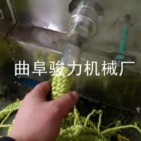 小型家用玉米膨化机 玉米碴子苞米花机 粗粮膨化机 骏力牌