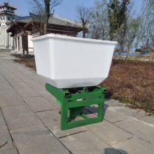 志成新款施肥机家用型 四轮拖拉机前置电动追肥器 玉米作物追肥工具
