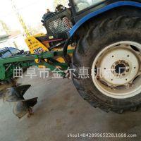 新款果园植树挖坑机 埋桩立柱植树挖坑机 大型多功能挖坑机