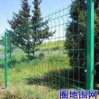 车间护栏护网围栏墨绿色铁路隔离栅 框架护栏网 果园圈地铁丝网围栏