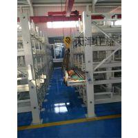 太原棒材货架 伸缩式存放6米、12米的棒料