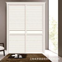 美之源推拉门木塑密度板覆膜MZY-B002款衣柜移门厂家批发
