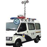 车载倒伏式升降杆 云台照明升降杆 琛宝精工制造
