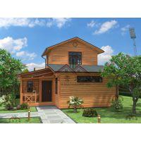 供应厂家直销现代双层轻型休闲木屋