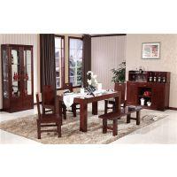 珠海木言木语极简中式餐桌椅,中式装修餐厅全家共享