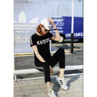 武汉服装批发市场品牌折扣女装秋冬外套品牌折扣店加盟欧美鸿星米兰T恤
