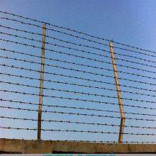 防盗铁蒺藜 浸塑刺绳 刺丝隔离栅