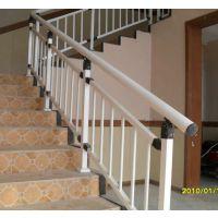莱芜烤漆楼梯栏杆,HC莱芜仿木纹楼梯护栏,组装式阳台围栏,喷塑靠墙扶手,镀锌钢围栏Q235,