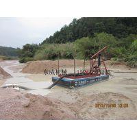 山东河道抽沙机厂家,小型6寸吸沙船价格
