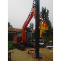 黑龙江挖机改装液压钻机