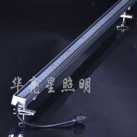 亮化灯具防水线型投光灯厂家专卖24v3000k线条灯12w广告硬灯条华亮星