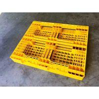 各种规格出口塑胶卡板1210全新料叉车塑料托盘 环保塑胶地台板