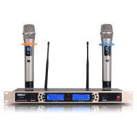 会议话筒SH16 U段无线麦克风一拖二ktv专业舞台演出家用话筒