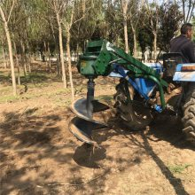 承德拖拉机挖坑机 大型车载式植树机 种植机价格