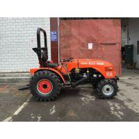 洛阳604B迷你低矮轮式拖拉机 农用果园大棚王 可配套各种农业设备