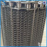 厂家直销 304不锈钢输送机网带 304不锈钢链条式网带 欢迎订购