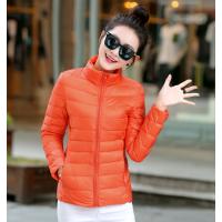冬装加厚韩版羽绒外套厂家直批长款修身时尚女装羽绒服批发品牌尾货羽绒服一手货源