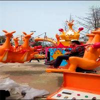 智宝乐游乐设备厂家热销新款旋转袋鼠跳 儿童游乐设备