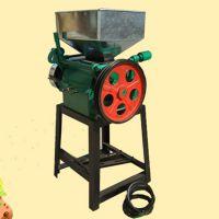 豆浆机粮食加工挤扁机 燕麦片压扁小型家用机械 乐丰牌