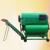 四轮车带动摘果机厂家 秧果分离机 干湿两用花生采摘机