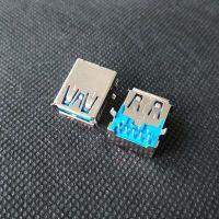 usb3.0 90度弯脚母座【两弯脚+9p全插板A母】=USB板上DIP 3.0 AF