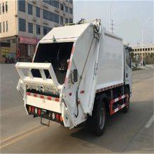 垃圾压缩车8方,压缩式垃圾车,新能源,多少钱