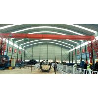 山西路桥项目钢筋棚龙门吊安装调试完成