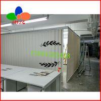 三合智创手动纯白阳台推拉门 家用折叠门 商用折叠门价格