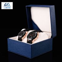 厂家批发现货品牌高档pu定制加工印logo手表盒 手表盒子包装盒