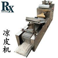 全自动凉皮机 多功能小型自熟仿手工凉皮机 电加热油加热河粉机