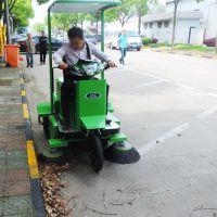 驾驶式扫地机 上海洁乐美清扫车厂家 物业保洁公司用吸尘扫路车