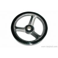 供应圆轮缘手轮 电木胶木手轮 12*100 量大优惠