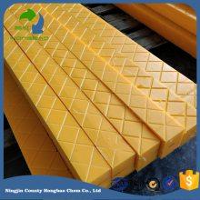 塑料轨枕使用寿命长性能优于木质轨枕