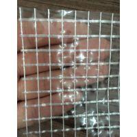 PVC透明夹网布 透明帐篷布 网格布