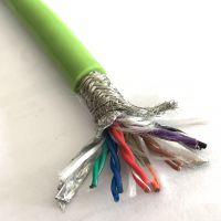 双绞屏蔽伺服电机电缆 防水耐腐蚀高柔性编码器电缆14芯0.2平方现货