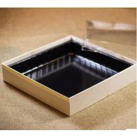 天然木材高档木质海鲜打包盒 240*240寿司刺身精致包装盒 三文鱼海鲜拼盘厂家批发