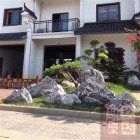 天然原石大型庭院雪浪泰山石景观切片石头组合山石造景园林风景石 玖坊雕塑