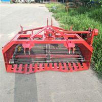 拖拉机带的皮带传动1.6米土豆收获机大蒜收获机13184116297