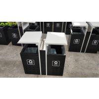 迷你款钢板冲孔垃圾桶 购物广场环保垃圾桶 青蓝QL6208小区果壳箱 可定制