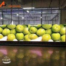 专供外贸出口P2.5室内表贴500*500压铸铝超高清LED电子大屏幕