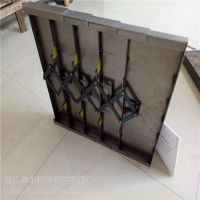 台湾亚威VX500加工中心伸缩导轨防护罩自产自销