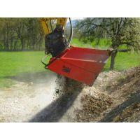 挖掘机多功能破碎斗 废物处理效率高 国外技术质量稳定