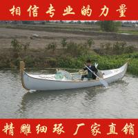 广东热销6米贡多拉船 欧式手划船 酒店主图装饰道具船 景区婚纱摄影船