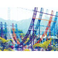 长春创艺供应8人弯月飞车游乐设备儿童弯月飞车游乐设施报价