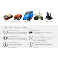 BMS1060电池管理系统,Roboteq 电池管理保护系统,11 - 15个电池锂离子电池。