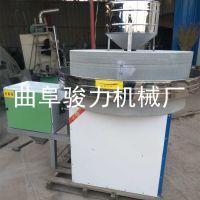 全自动面粉石磨机 商用小麦全麦粉加工设备 骏力牌 电动石磨机 低价供应