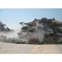 专业公共娱乐场所造雾系统园林雾森降温图片