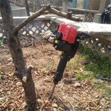 小型断根起树机 江苏苗木移栽机 圣鲁冲击式挖树机