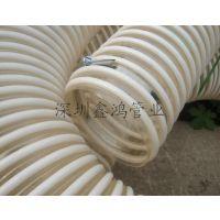 高耐磨塑料塑筋螺旋软管聚氨酯塑筋软管