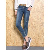 广西桂林摆滩去广东哪里有厂家低价进货牛仔裤批发小脚裤库存便宜女式牛仔裤批发
